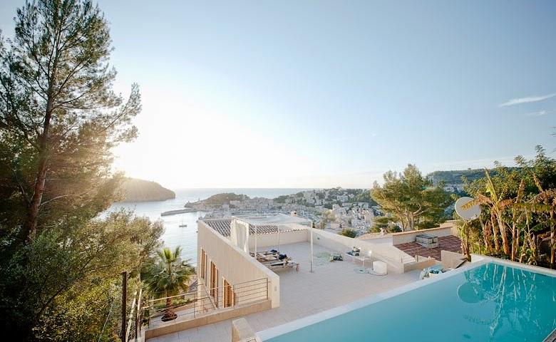 casa en Mallorca con vistas al Puerto de Sóller