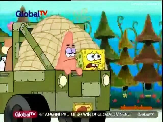 streaming spongebob bahasa indonesia sandy spongebob and