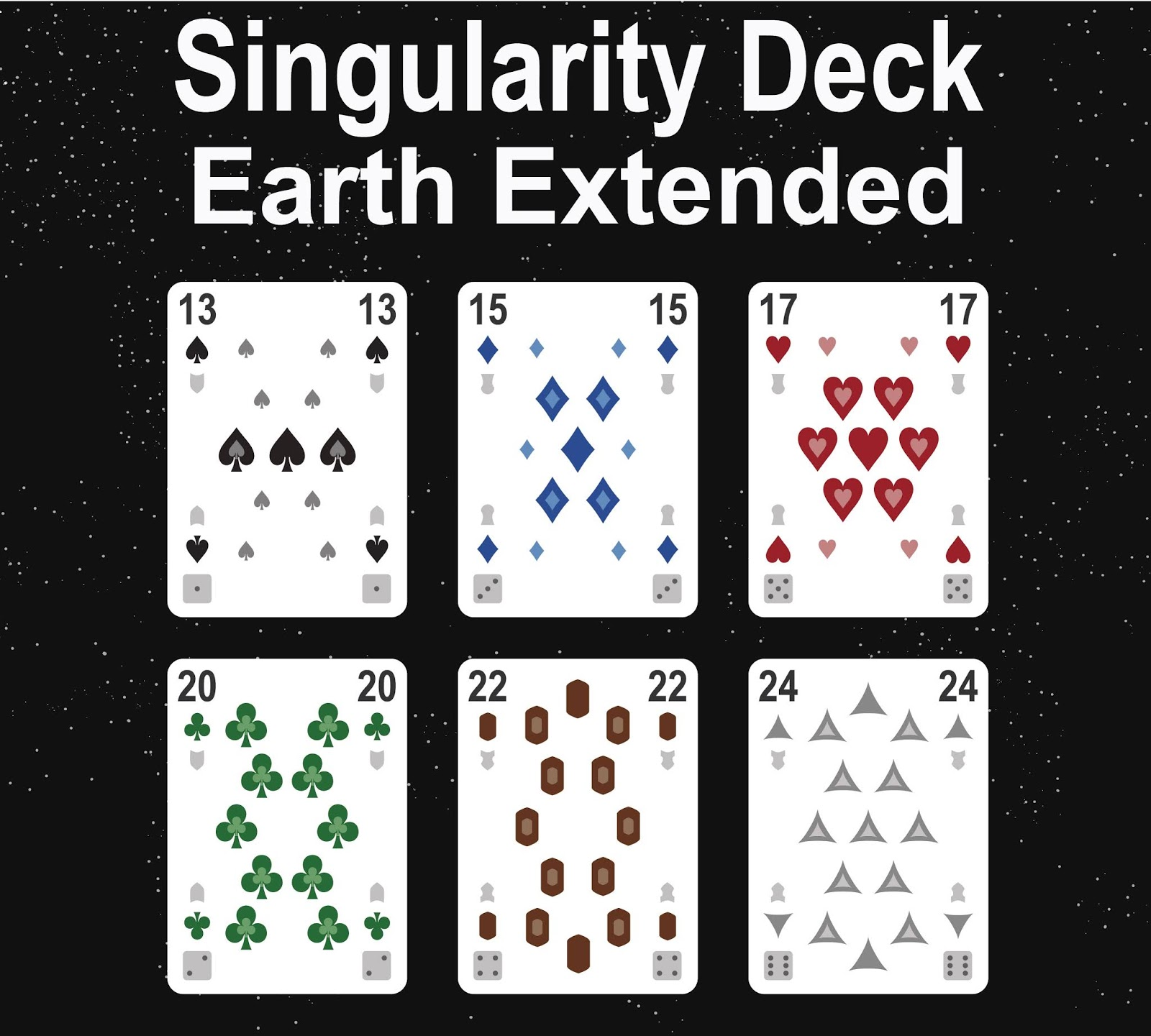 The Singularity Deck - Earth (Extended Ranks)
