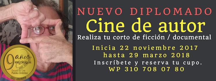 En CALI. Escuela de Cine PakikOrdóñez. Patrimonio del Cine en Colombia.