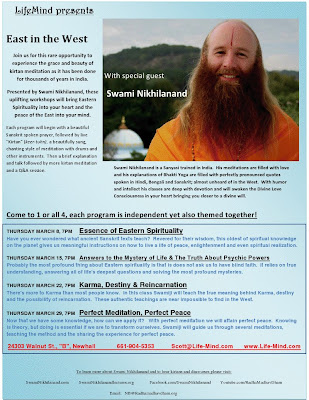 Disciple of Jagadguru Kripaluji Maharaj to give lectures and kirtan in California 2012