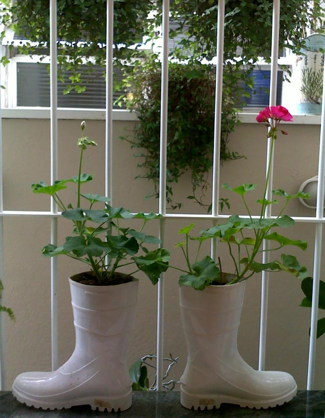 plantas de jardim que gostam de umidade:Gostei, postei!: Vasos diferentes.