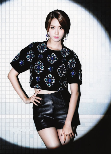 SNSD Girls Generation Yoona Flower Power Individual Pictures