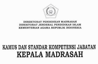 Kamus Kompetensi Jabatan Dan Standar Kompetensi Jabatan Kepala Madrasah