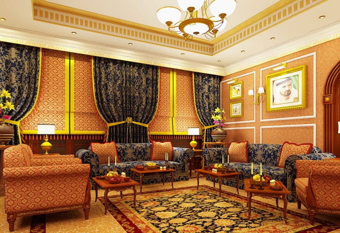 Home Interior Designs Arabic Living Room Design Ideas