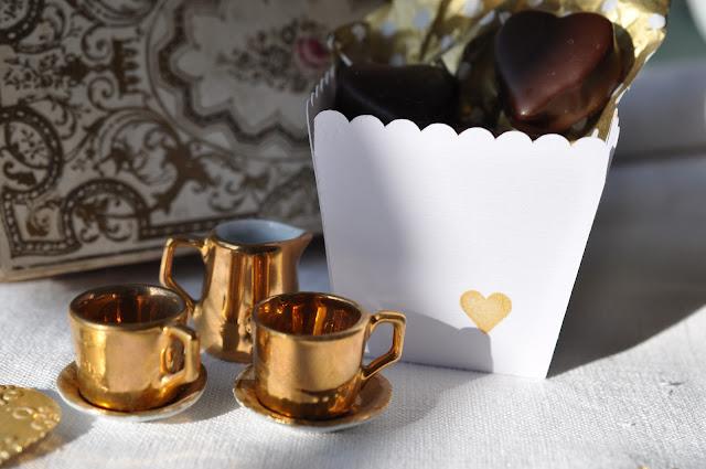 saint valentin chocolat coeur