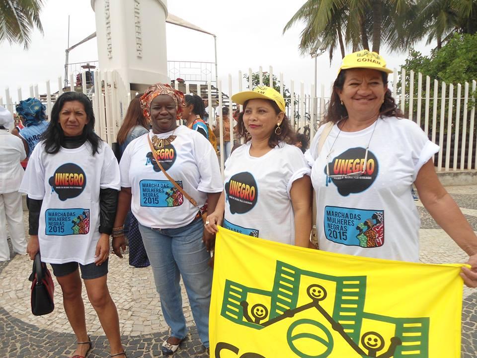 Pré Marcha das Mulheres Negra 2015