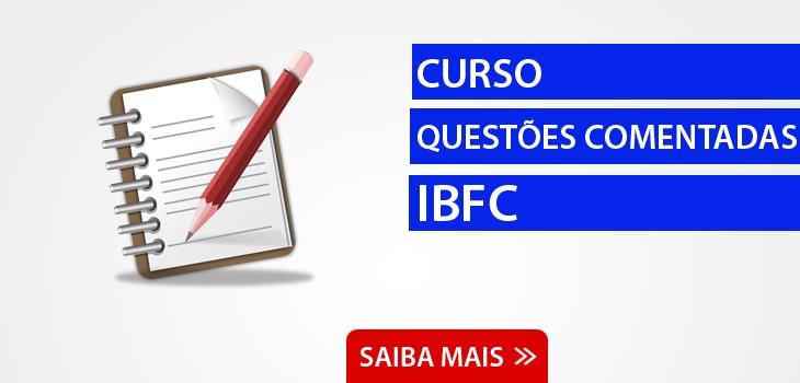 Questões Comentadas IBFC
