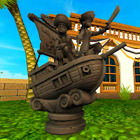Pirate101 5 Million Players Statue