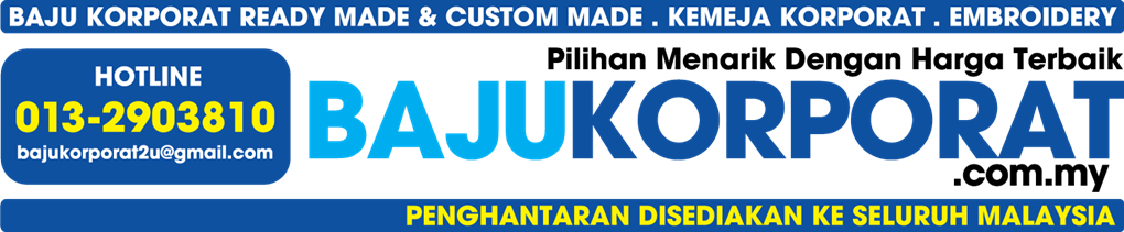 Tempahan Baju Korporat - BajuKorporat.com.my