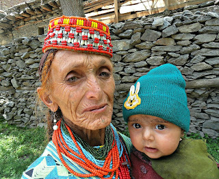 grandmother in kalash valley Nikon HD Photography