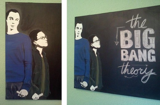 BIG BANG theory - Blackboard I por aBal0rio