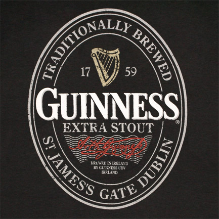 Pictures Blog: Guinness Beer Label