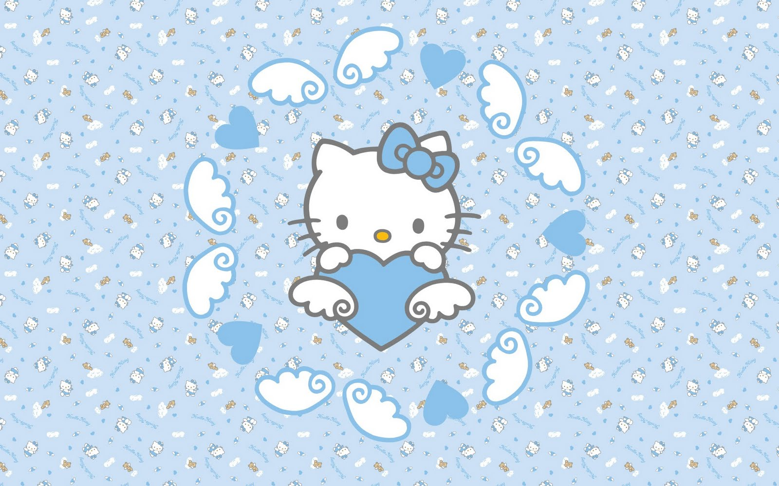 Cute Hello Kitty Wallpaper For Widescreen Desktop And Notebook