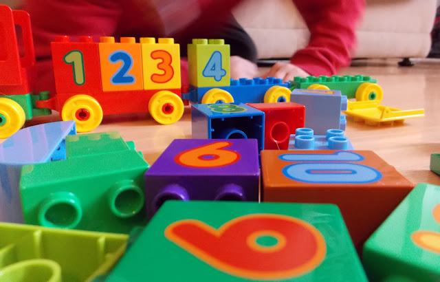 lego duplo number bricks