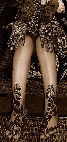 Bridal Mehndi On Legs : Mehndi designs for hands indian bridal