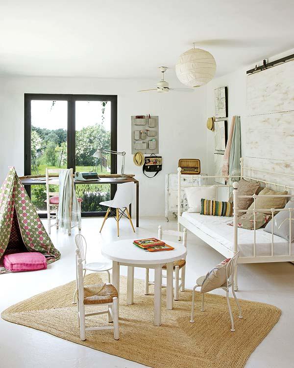 Casa en medio del campo cocinas modernass for Dormitorio sala