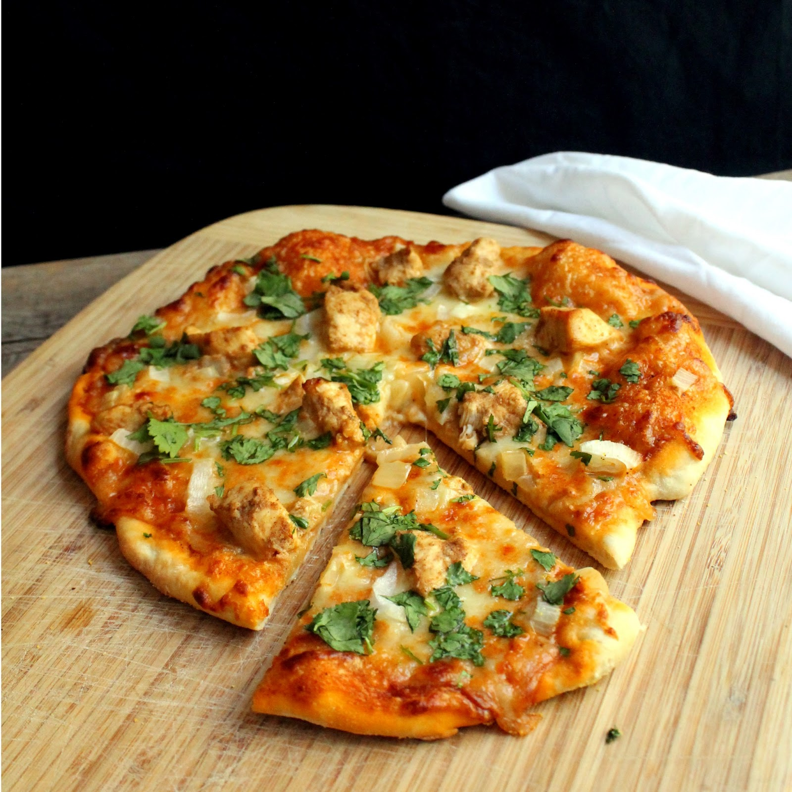 The Stay At Home Chef: Chicken Tikka Masala Pizza