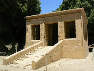 Capilla Blanca de Sesostris I en Karnak - Egipto. Imperio Medio. Arquitectura egipcia. Escultura egipcia. Religion egipcia.