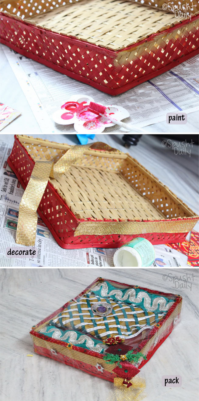 Gift Packaging Ideas For Indian Weddings : The stuff is sometimes displayed to extended family members and close ...