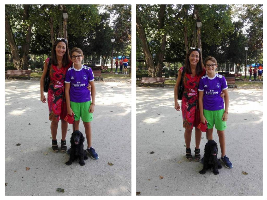 Cristina , Mario y Zoco. Básico septiembre 2016, Lugo.
