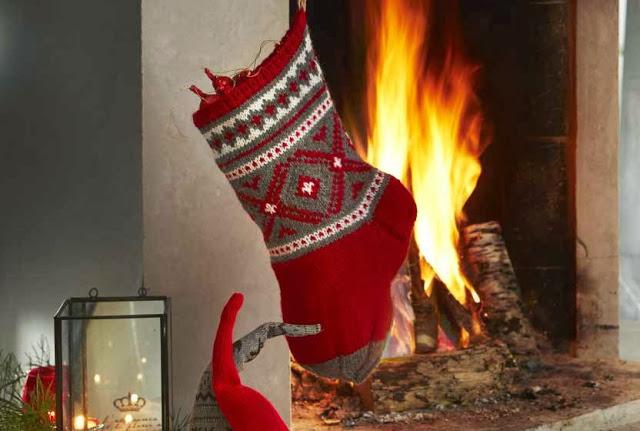 Gratis oppskrift på julestrømpe fra nille
