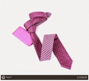 Double Sided Microfiber Tie for Men