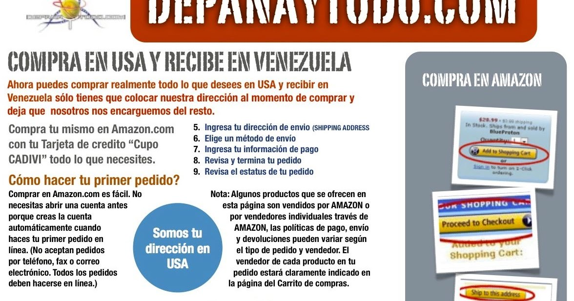 Compra tus productos en Amazon Venezuela ... - anxer.net