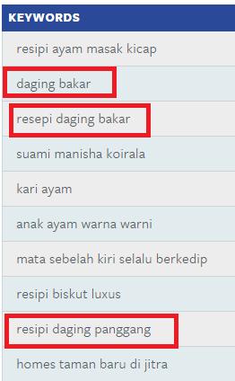 RESEPI DAGING BAKAR DI HARI RAYA AIDIL ADHA