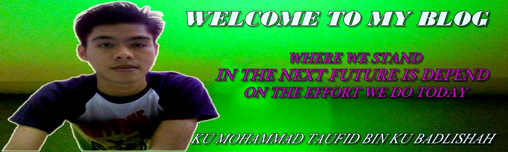 Ku Taufiq Blog Story