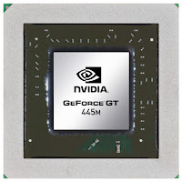 Nvidia Geforce GT 445M