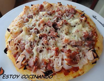 Estoy cocinando tortipizza for Comidas faciles de preparar en casa