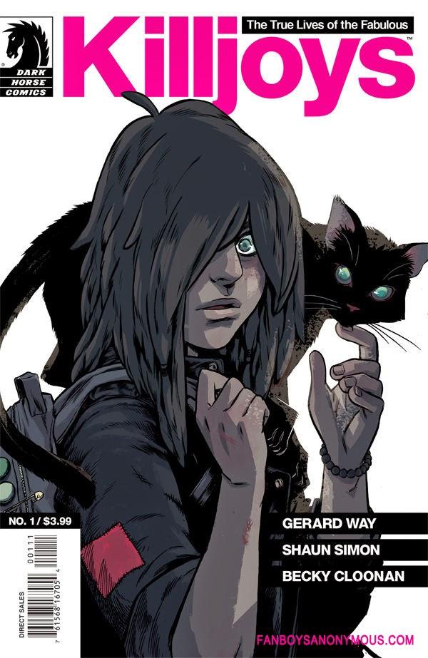 Fabulous Killjoys comic book cover
