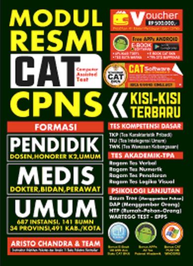Buku Modul Panduan CAT CPNS 2015/2016