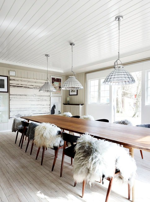 RUSTIC MODERN DINING ROOM COCOCOZY