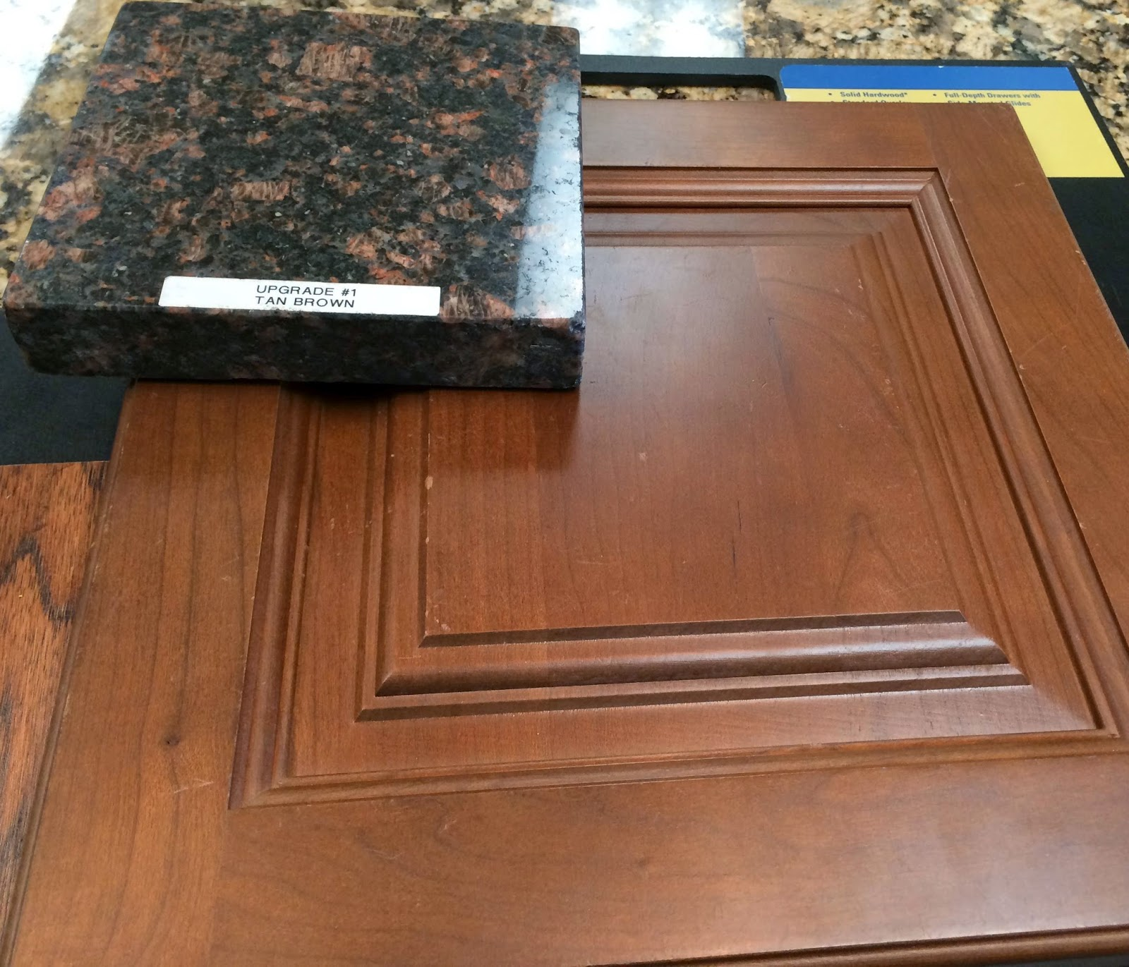 Cherry Spice Cabinets Ryan Homes