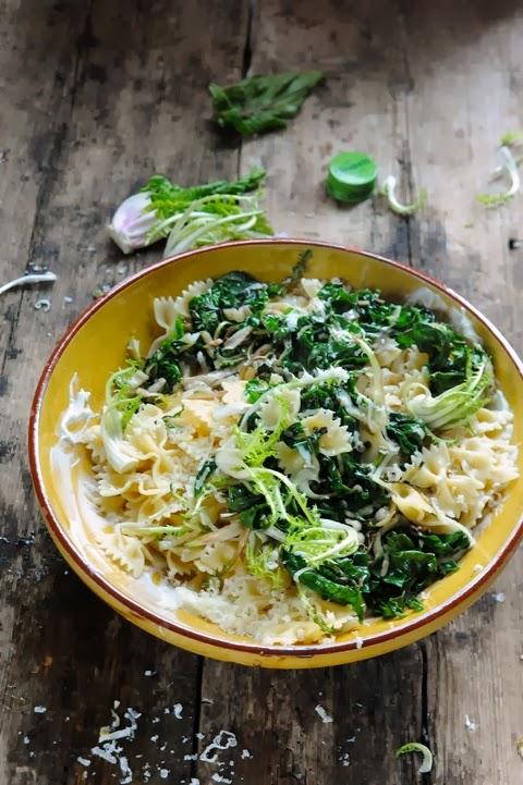 Et si les pâtes n'avaient besoin que d'un peu d'huile d'olive, de quelques petits légumes et de… quelques autres petites choses…