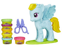 Play-Doh Rainbow Dash Style Salon