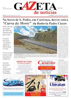 VEJA TAMBÉM A GAZETA DE NOTÍCIAS EM PDF