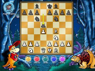 Dinosaur+Chess