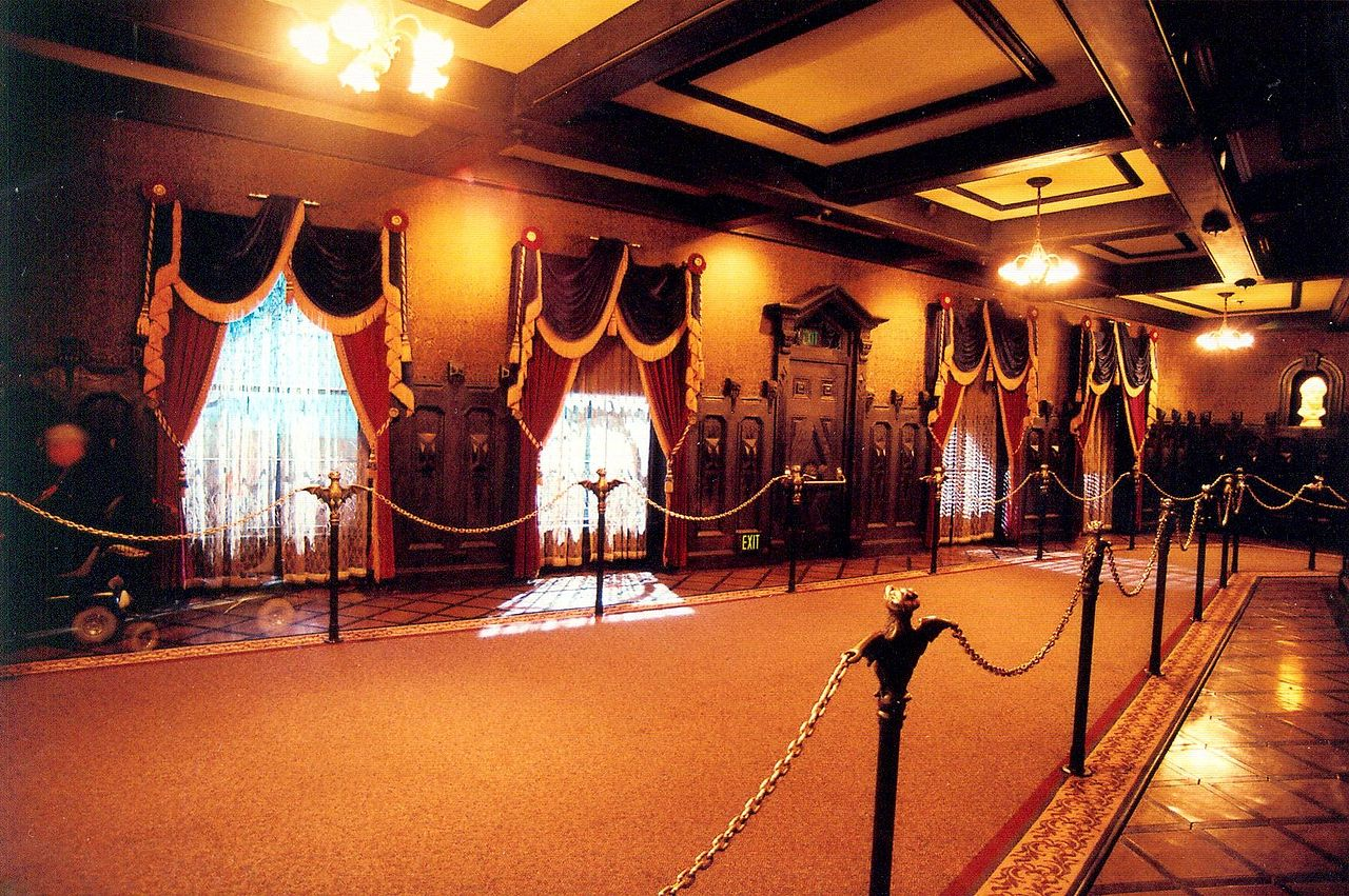 Haunted Mansion Holiday Foyer Music : Passport to dreams old new the branch beyond window