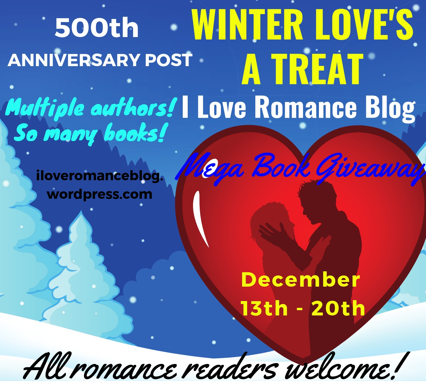 Winter Love's a Treat Giveaway