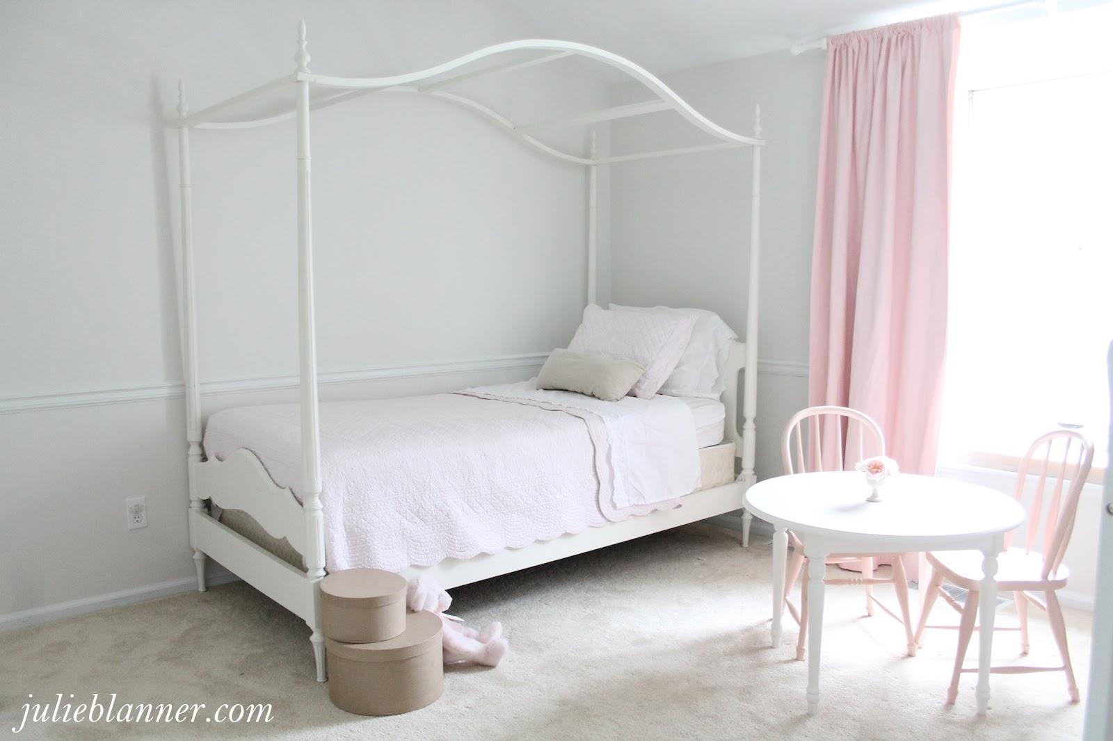 Adalyns Pink And Cream Bedroom Julie Blanner - Light pink and cream bedroom