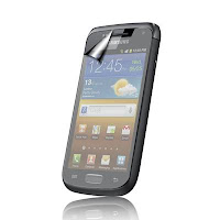 Frosting LCD Screen Protector Untuk Samsung Galaxy W i8150