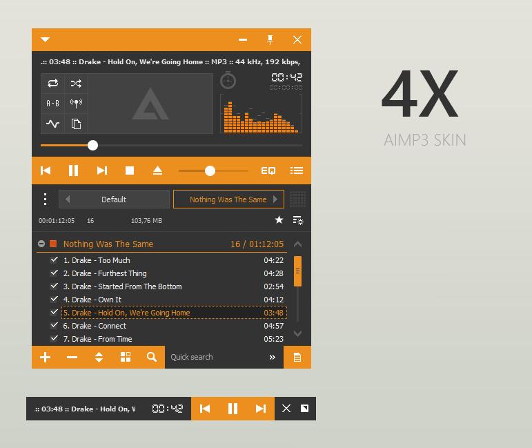 Kumpulan Skin Keren Untuk AIMP3
