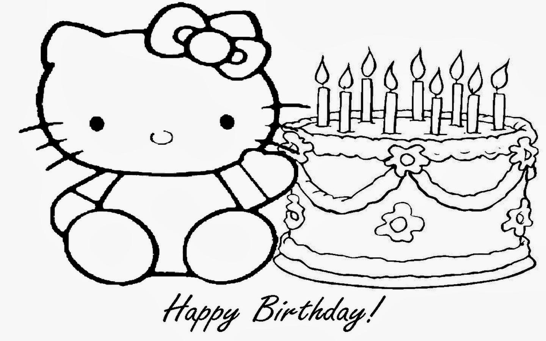 Dibujos Para Colorear E Imprimir Feliz Cumpleaños ~ Ideas Creativas ...