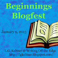 Beginnings blogfest