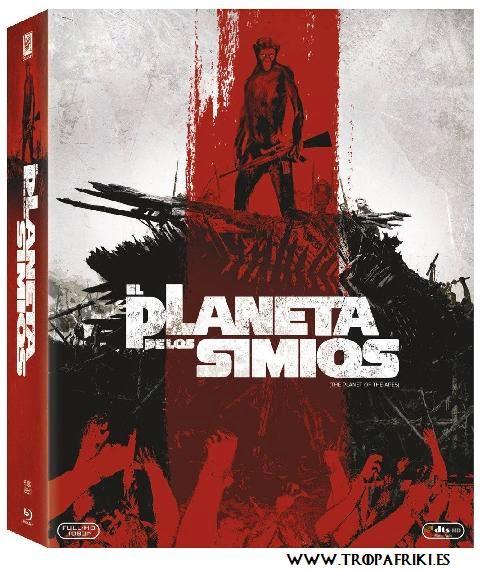 El Planeta de los Simios: saga completa en Blue-Ray