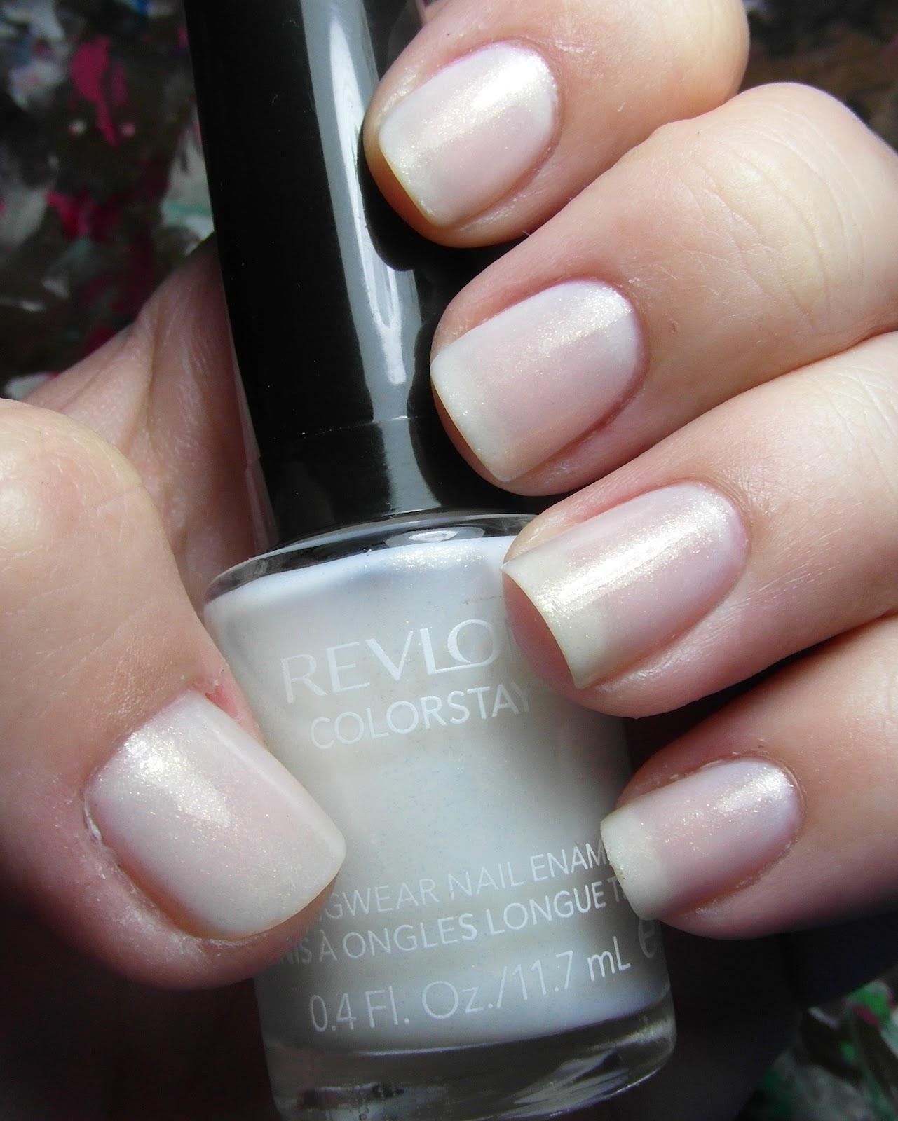 Revlon Sheer Nail Polish: Hotpinkaurora: Revlon ColorStay Calla Lily