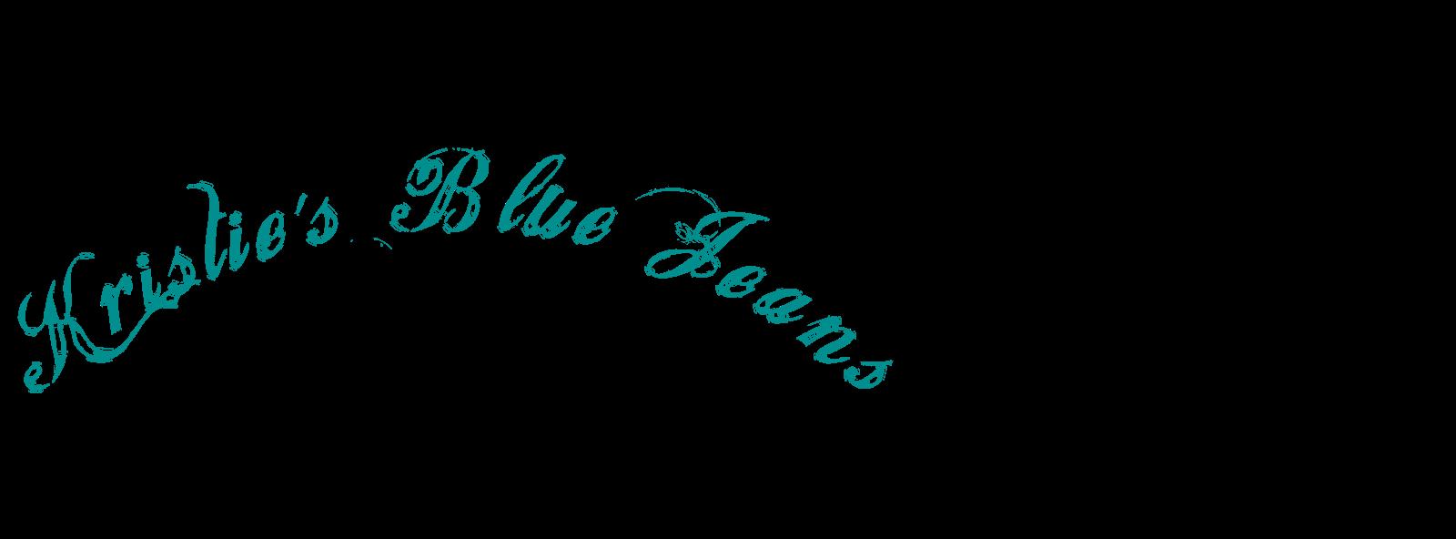 Kristie's Blue Jeans